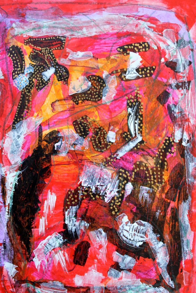 Peinture, Jean-Erns Marie-Louise, France-Haiti, années 2010.